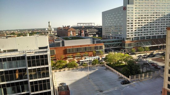 Holiday Inn Baltimore-Inner Harbor: View of Camden Yards from HI Room 1119