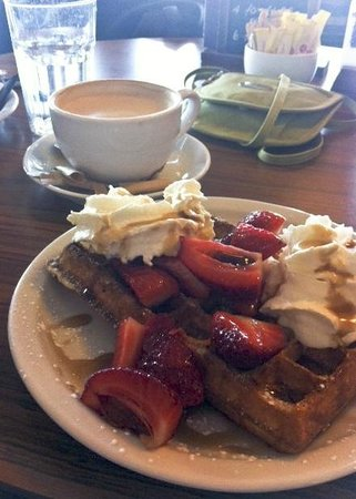 Oban Chocolate Company: Belgian Waffles with Berries