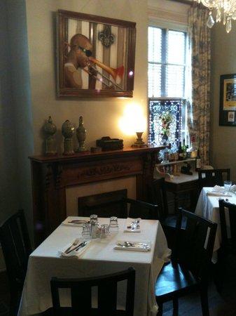 Maison de Macarty: Dinning Room