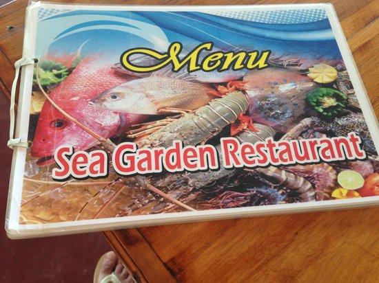 Dickwella Resort & Spa: menu