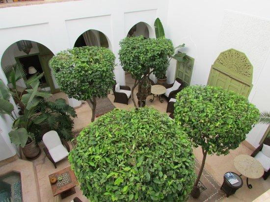 Riad Camilia: cour interieur