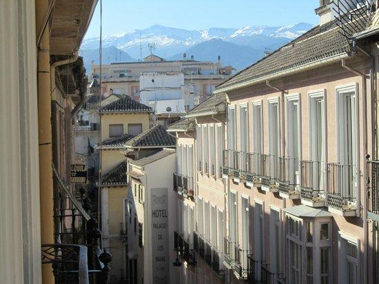 Hostal Navas 14: View from balcony