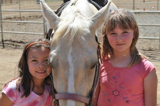 Chaparral Ranch: Chaparral has many gentle, friednly horses. Great place for kids' riding!
