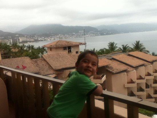 Friendly Vallarta Resort : Muy linda vista desde la habitación