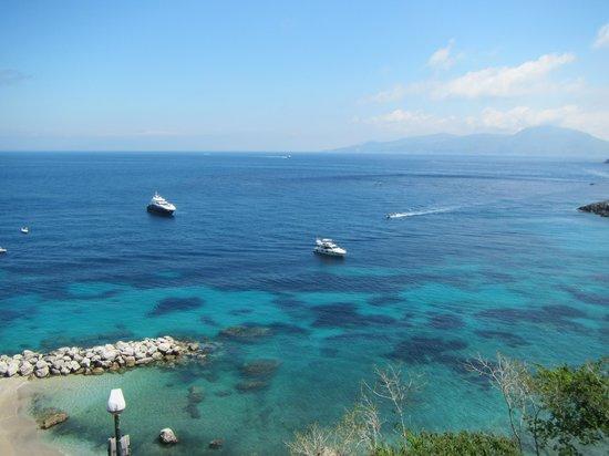 Capri Inn: Phenomenal view from Balcony