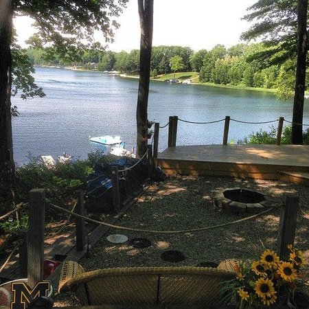 Holiday Park Campground : Spectacular views from most sites.