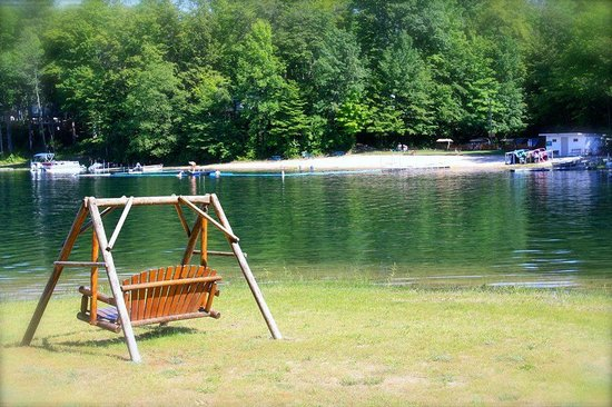 Holiday Park Campground: A view of our beach area