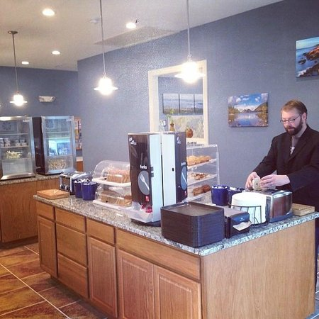 Best Western Acadia Park Inn : New Breakfast Building