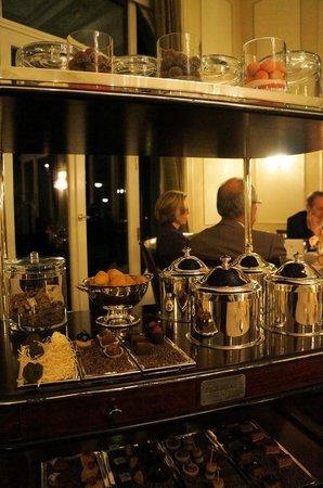 "Hotel Louis C. Jacob: Jacob's Restaurant dessert ""tray"""