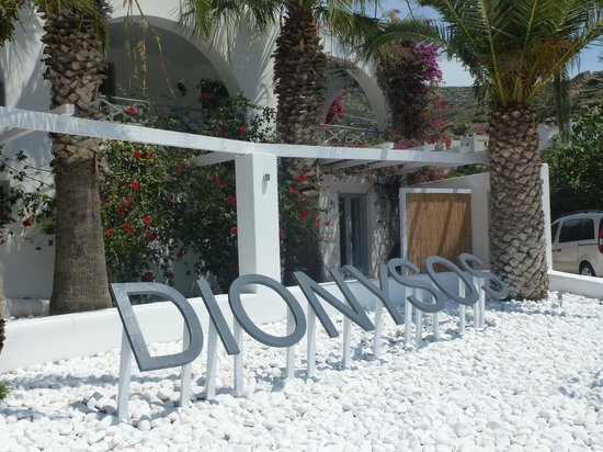 Dionysos Seaside Resort: ENTREE