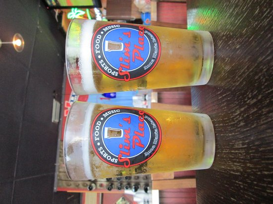 Slim's Place: Frosty Cold Beer