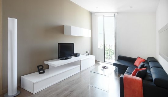 Arago 312 Apartments : Salón/comedor apartamento estándar