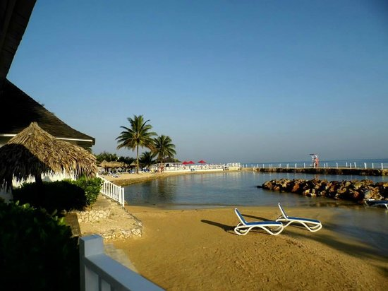 Royal Decameron Club Caribbean: The beach outside one of our huts