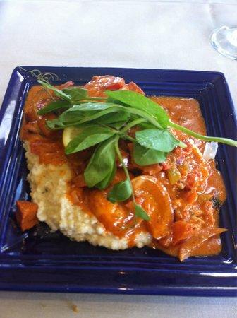 Gordon's on Blueberry Hill: shrimp & grits