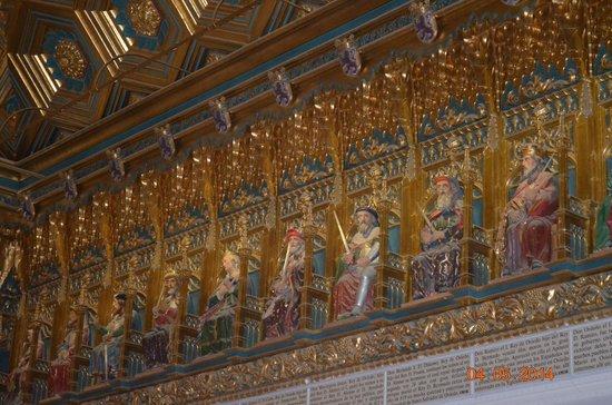 Alcazar de Segovia: alcazar inside