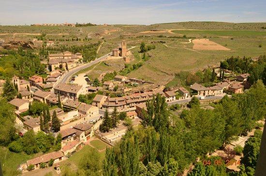 Alcazar de Segovia: the view from the palace