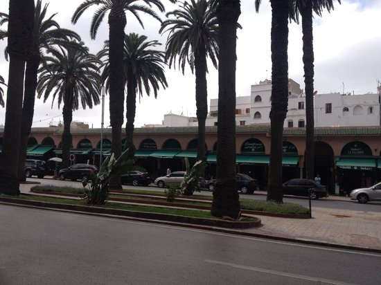 Hotel Plaza Casablanca : The old medina is opposite