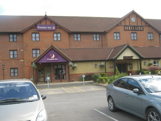 Premier Inn York North West Hotel: View from Car park