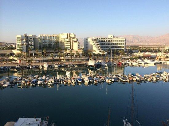 Dan Panorama Eilat: Vista desde la habitación.