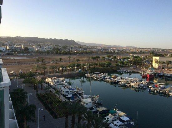 Dan Panorama Eilat : Vista desde la habitación.