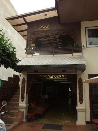 Rich Lanna House : INGRESSO HOTEL