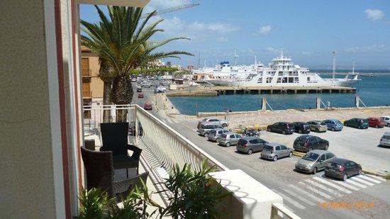 Hotel Riviera: ottimo panorama