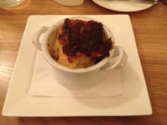 The Circus Restaurant: Bread and butter pudding