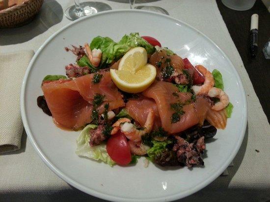 Les 3 Freres : Salade pescadou