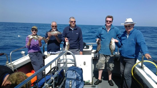 Tiger Charters: group fishing