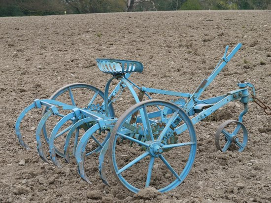 Acton Scott Historic Working Farm: Plough ready for action