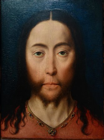 Museum Boijmans Van Beuningen: Dieric Bouts: Head of Christ