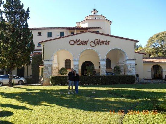 Hotel Gloria : frete do hotel