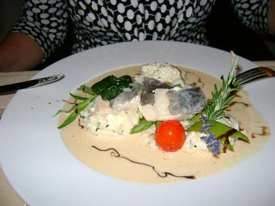 Strandhotel Glucksburg: Middag