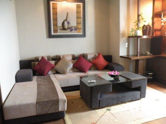 Asia Hotel: Sitting area