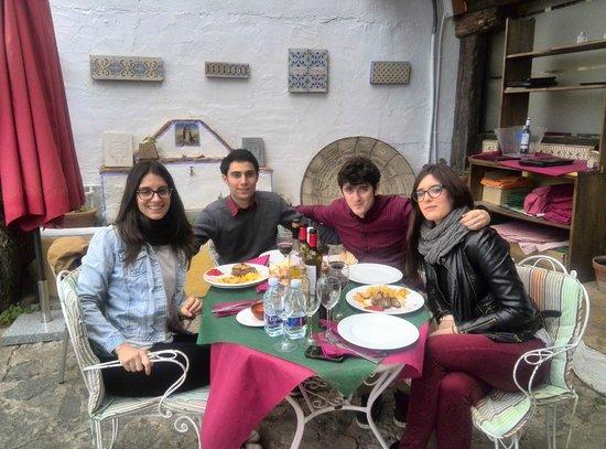 Restaurante Marqués de Cruilles: Gozando