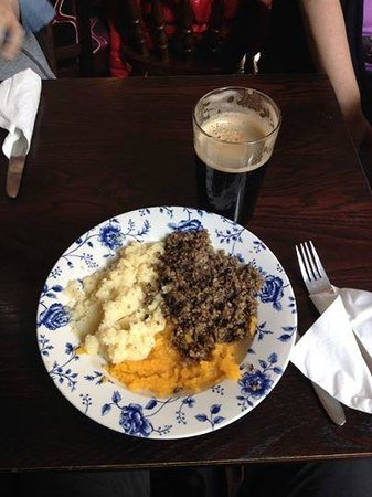 The Counting House: Haggis, neeps and tatties