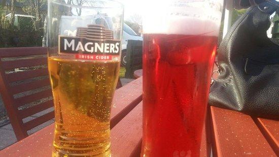 Nithsdale Hotel: In the beer garden