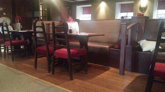 Nithsdale Hotel: The restaurant