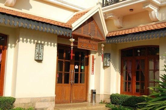 Steung Siemreap Hotel: Hoteleingang
