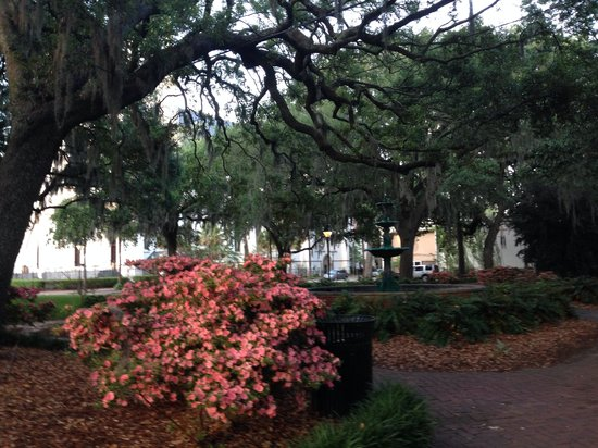 Savannah Historic District : Mais de 20 diferentes praças.