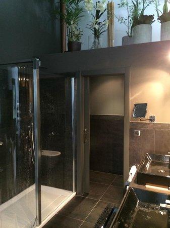 Hotel Aldori Landetxea: Bathroom