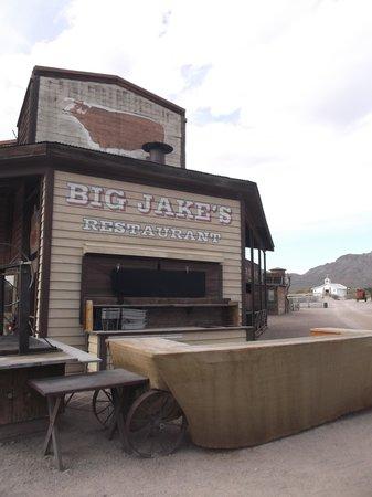 Old Tucson : Big Jakes's restaurant