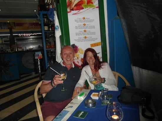 Sol y Luna - Puerto Mogan: Great drinks. Great service. Great place!!