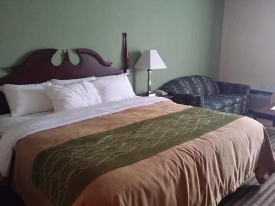 Quality Inn: King room i stayed