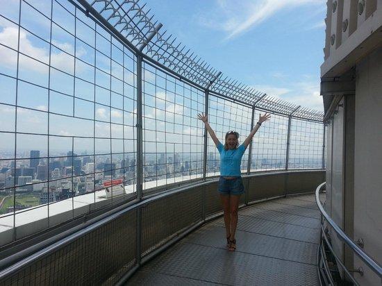 Baiyoke Sky Hotel: 86 этаж, крутящаяся смотровая площадка