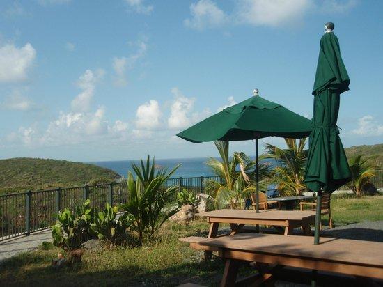Concordia Eco-Resort : picnic area near office