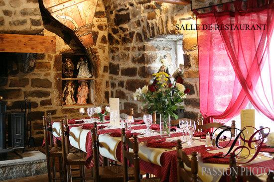 Auberge de Langlade : le restaurant