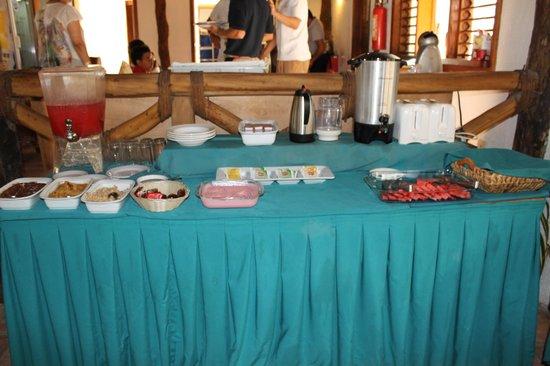 Xaloc Resort: Mesa de buffete para todos los huèspedes