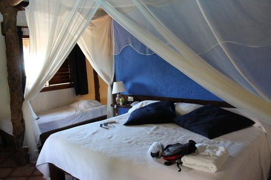Xaloc Resort: Las camas.