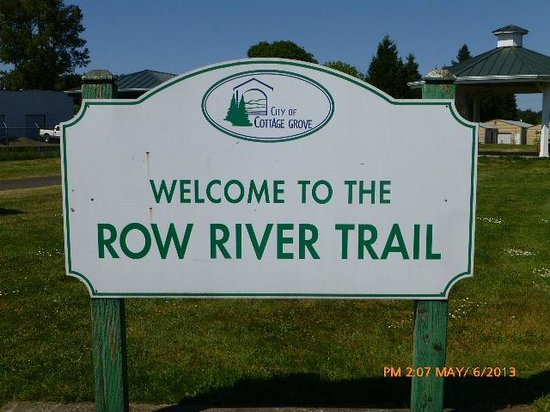 Row River Trail: Starting Point in Downtown Cottage Grove